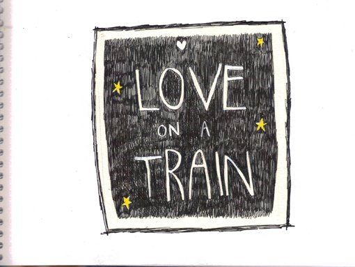 love on a train...