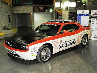 Pure American Muscle Dodge Challenger Police Car