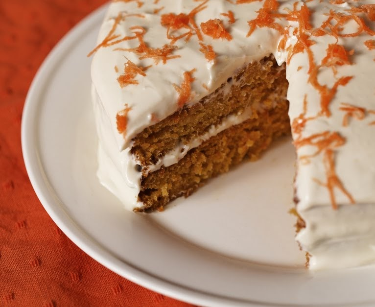 Lemon Drop Carrot Cake With Cream Cheese Icing