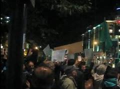 ادامه اعتراضات مردم تهران در شام غريبان
