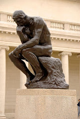 The Thinker by Auguste Rodin first cast in 1902