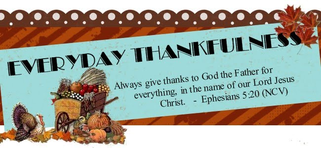 Everyday Thankfulness