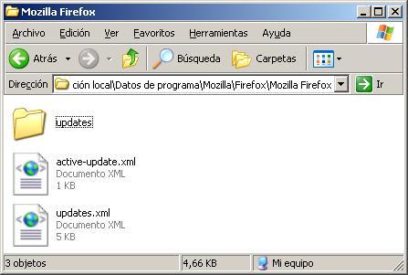 Archivos de Mozilla Firefox