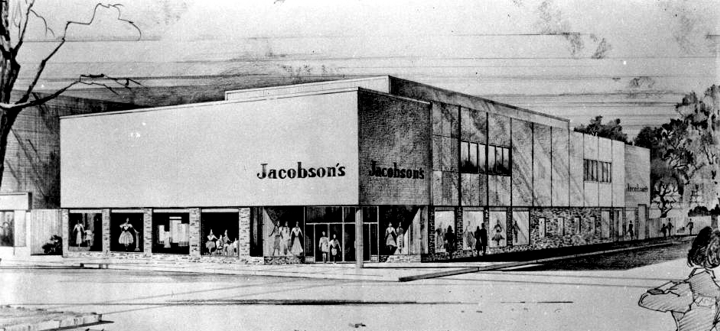 Jacobson s Kalamazoo store opened in 1961 on Burdick treet. The Department Store Museum  Jacobson Stores  Inc   Jackson  Michigan
