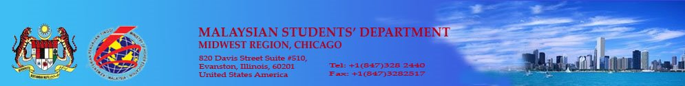 MALAYSIAN STUDENTS' DEPARTMENT, CHICAGO