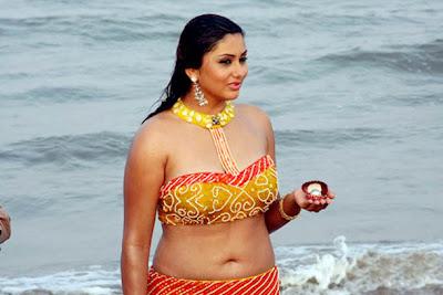 Namitha In BIkini - Beach
