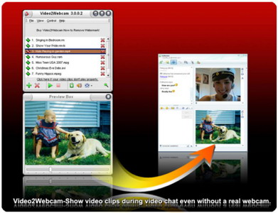 video2webcam تحميل برنامج الكام الوهمي Video2Webcam 3.2