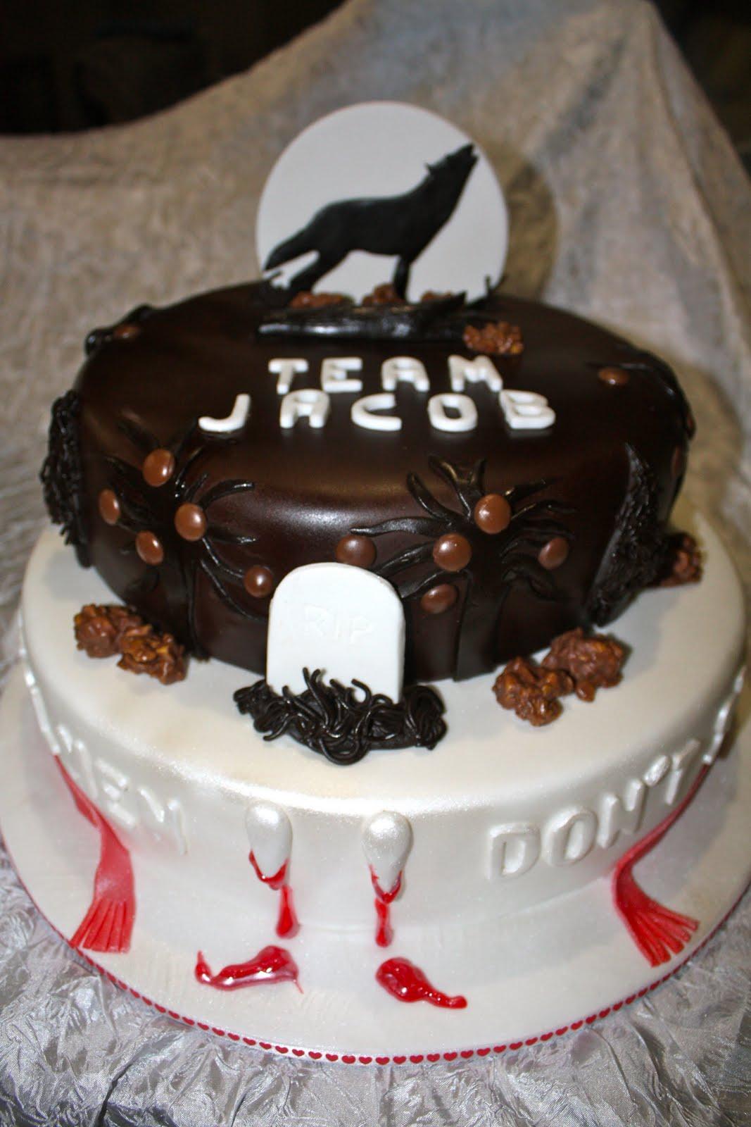 Mandylicious Cakes Ashleigh s Twilight team Jacob