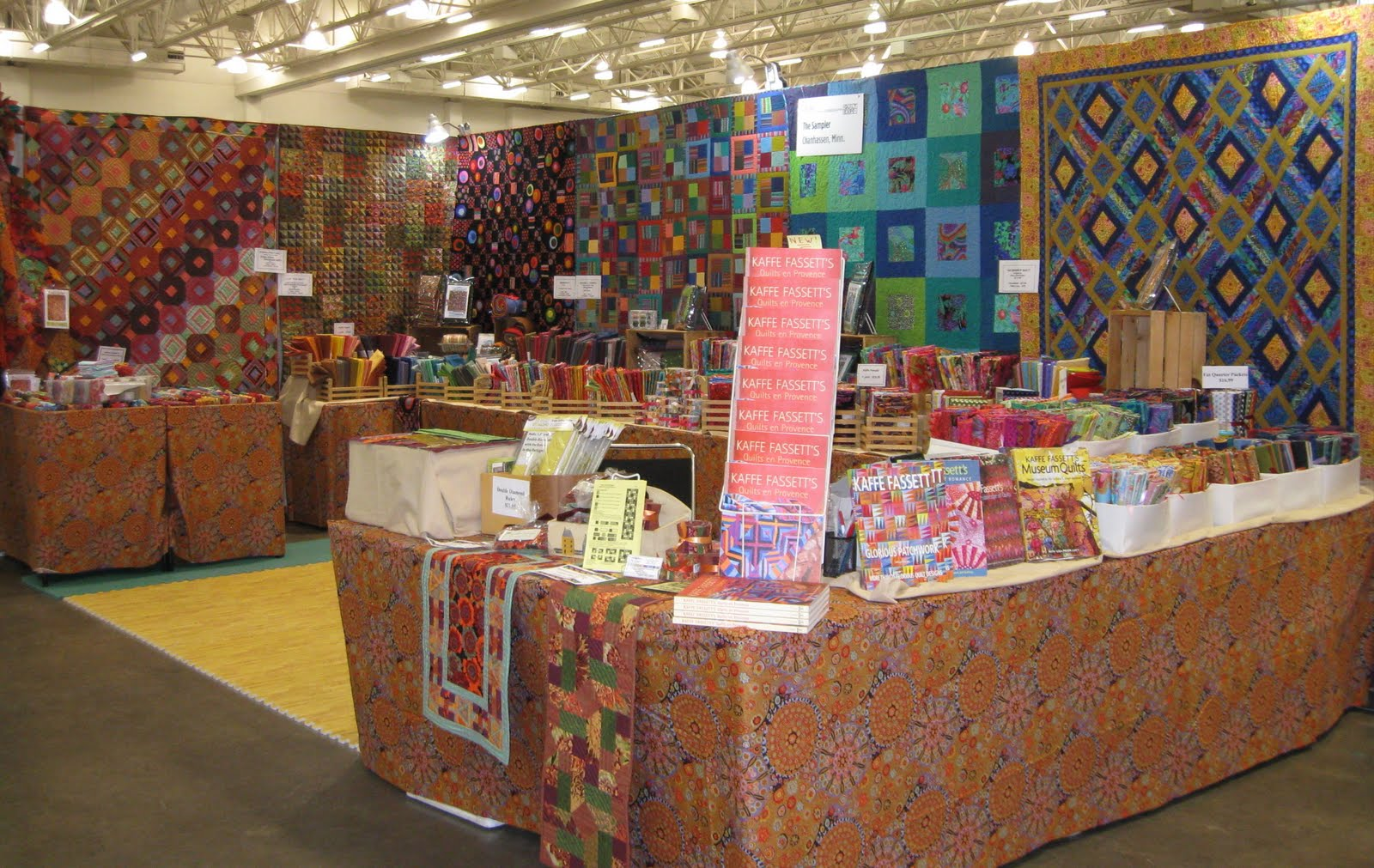 Mary Deeney Quilts Having Fun At The Quilt Expo In Madison Wisconsin