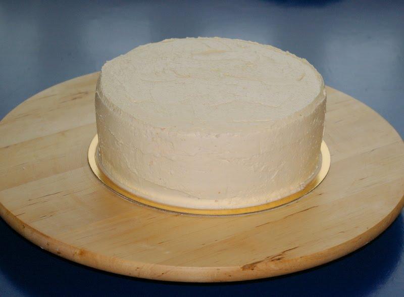 smörkräm spackla tårta