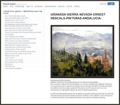 GRANADA-SIERRA NEVADA-PINTURAS-PAISAJES-ERNEST DESCALS