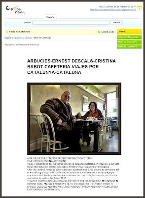 ARBUCIES-CRISTINA BABOT-MONTSENY-VIAJES-CATALUNYA-CATALUÑA-ERNEST DESCALS