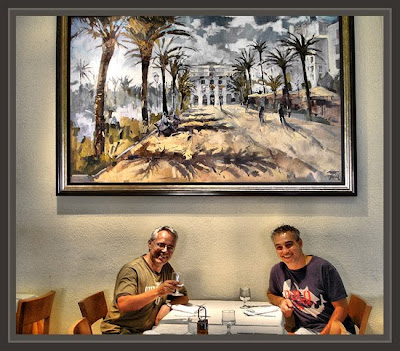 RESTAURANTE-HOTEL-ERNEST DESCALS-PINTURA-LLORET DE MAR-JUANJO-DIRECTOR HOTELES
