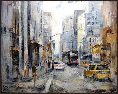 NEW YORK-NUEVA YORK-NY-ERNEST DESCALS-PINTOR