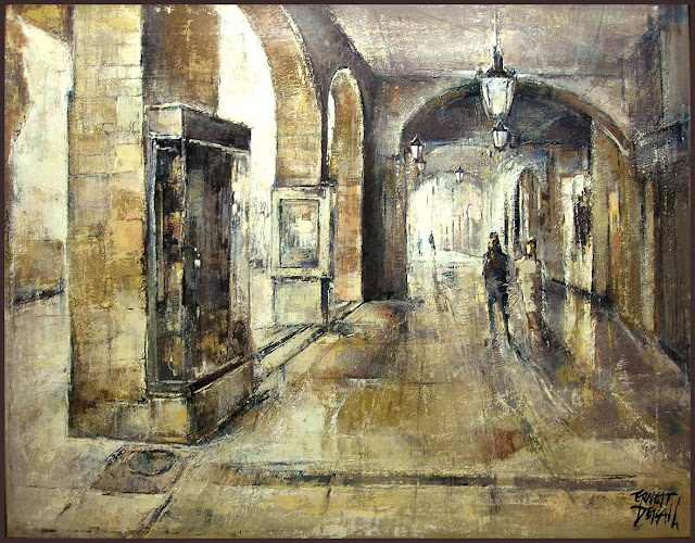 LLEIDA-PINTURA-CARRER MAJOR-PINTOR-ERNEST DESCALS