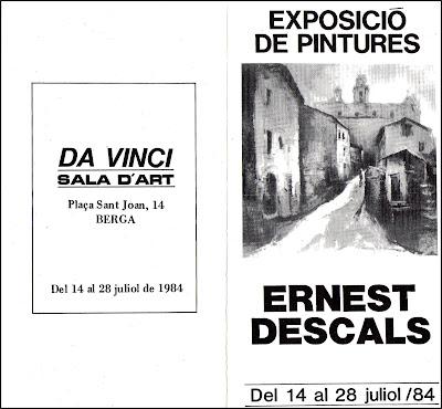 BERGA-ERNEST-DESCALS-EXPOSICION-PINTURAS-CATALOGO