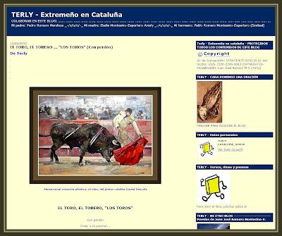 TERLY-EXTREMEÑO-CATALUÑA-TOROS-TOREROS-PINTURAS-ERNEST DESCALS