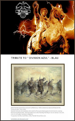 DIVISION AZUL-HOMENAJE-ERNEST DESCALS-LA LEGION
