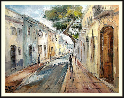 SANT PERE DE RIBES-GARRAF-PAISAJES-PINTURAS-ERNEST DESCALS