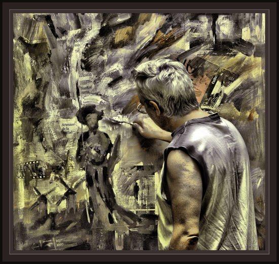 DON QUIJOTE-MUSAS-INSPIRACION-ESTUDIO ERNEST DESCALS