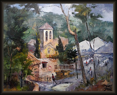 CASTELLNOU DE BAGES-SAMPEDOR-ERNEST DESCALS-ARTE ROMANICO-PAISAJES
