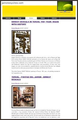 teruel-fiestas+del+jamon-ernest+descals-jamones+y+vinos