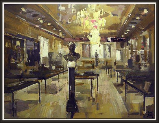 MUSEO MILITAR-EJERCITO-MADRID-ERNEST DESCALS-PINTURA