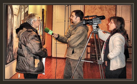VILASSAR DE DALT-PREMIO GUASTAVINO DE PINTURA-ERNEST DESCALS-TELEVISION