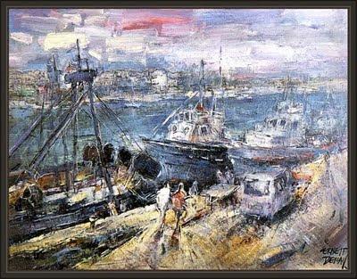valencia-port de cambrils-exposicion-pintura-galerias san vicente-ernest descals
