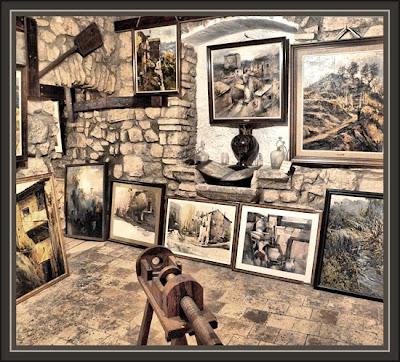 RAJADELL-PINACOTECA-LAS PINTURAS DE ERNEST DESCALS EN EL MUSEO