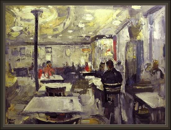 Cuadros Ernest Descals Pinturas Madrid Cafeteria Pinturas