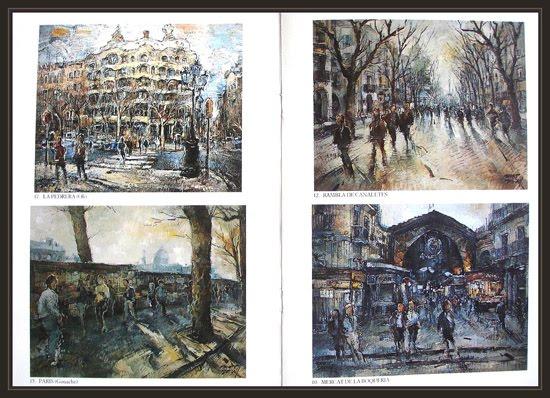 ART PETRITXOL-BARCELONA-EXPOSICIONES-PINTURAS-RAMBLAS-PEDRERA-BOQUERIA-PARIS-ERNEST DESCALS