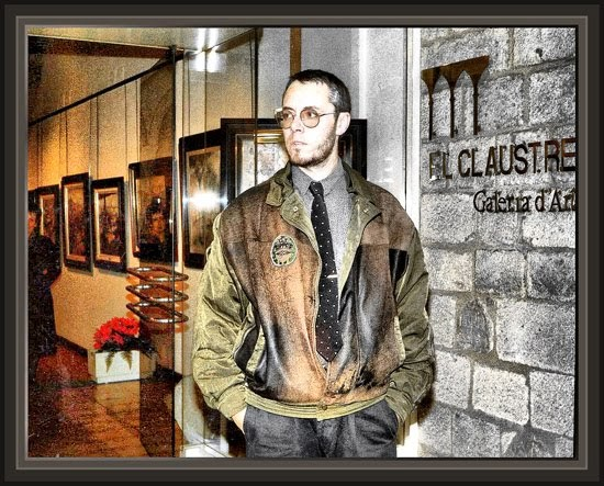 Ernest descals la historia del pintor el claustre girona - Pintores en girona ...