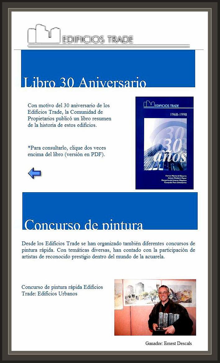EDIFICIO TRADE-BARCELONA-ANIVERSARIO-LIBRO-PREMIOS-PINTURA-ACUARELAS-ERNEST DESCALS