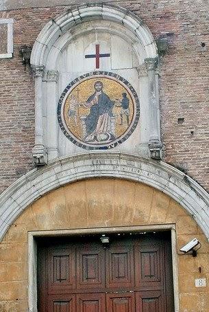 Roma e il mosaico di san tommaso in formis for Di tommaso arredamenti ostia