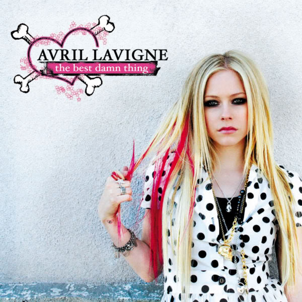 avril lavigne best damn thing cover. avril lavigne best damn thing