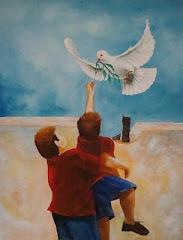 Um voo pela paz