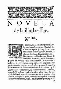 Primera edición de La Ilustre Fregona