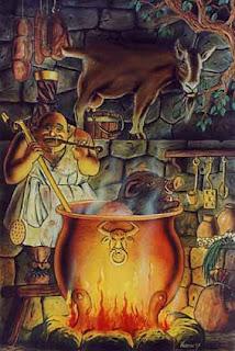 Nordische Mythologie Andhrimnir