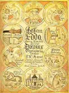 Nordische Mythologie die Edda