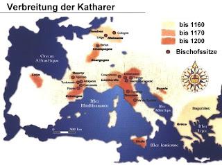 Die Verbreitung der Katharer