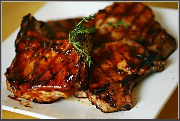 put pork chops in crock pot add brown sugar bbq sauce chopped onion ...