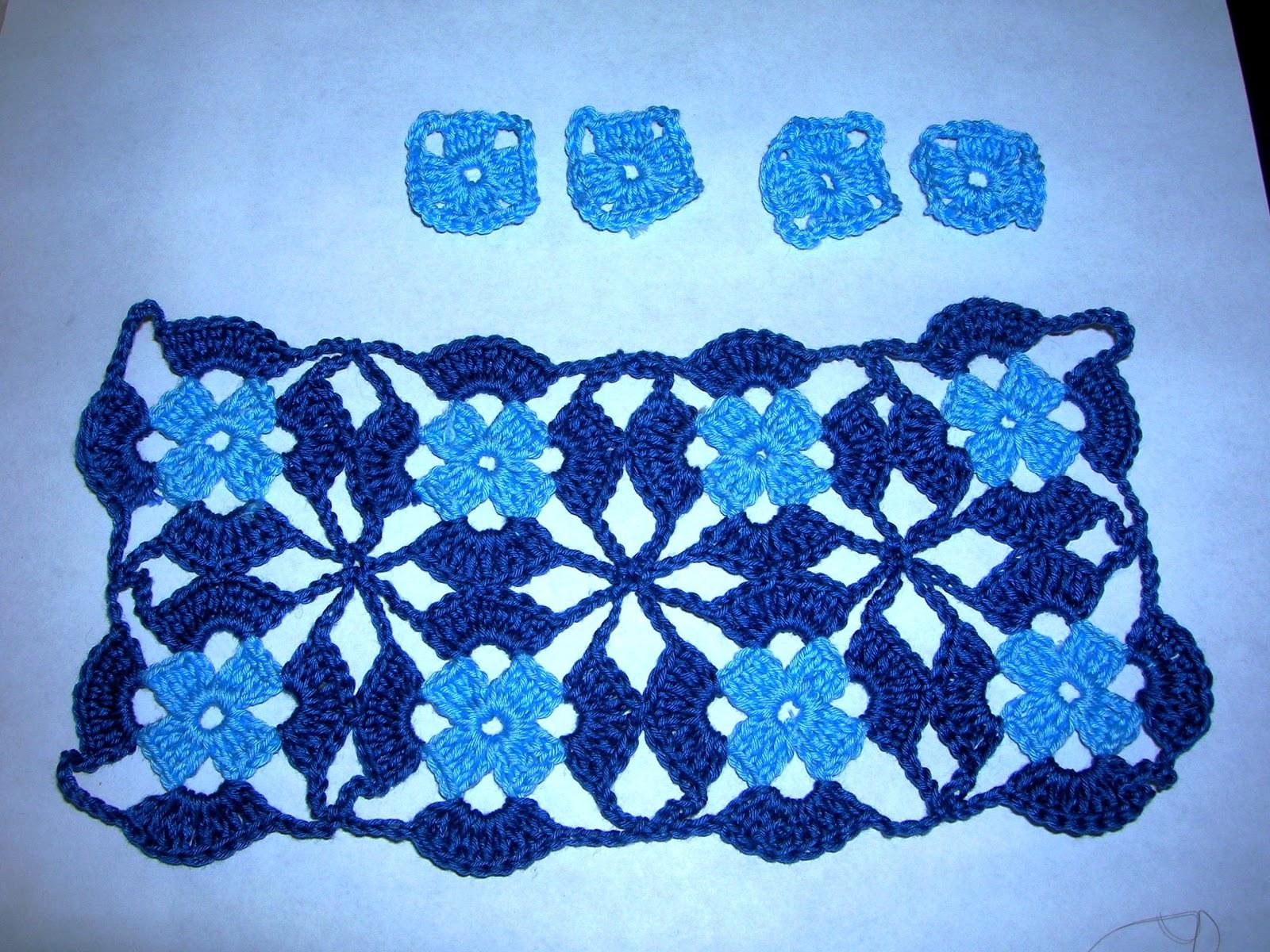 Mis labores en Crochet: Blusa de colores combinados