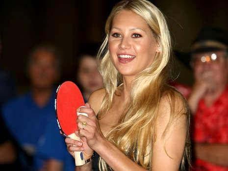 Table Tennis Bug: Celebrity Table Tennis Player of the Day ...  Anna Kurnikova
