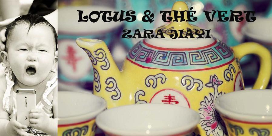 Lotus et thé vert...Zara