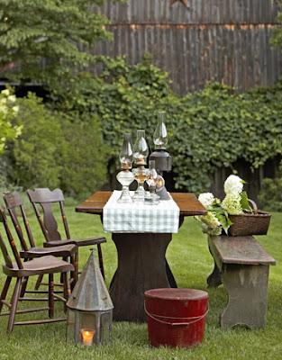 Patio furniture on pinterest patio ideas shabby chic patio and patio - Shabby chic outdoor furniture ...
