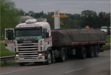 """Camion scania R420 tractora de la empresa mendocina """"MESSINA"""" Nª143"""