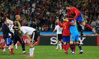 Spain Celebrate Their Victory