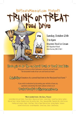 Trunk Or Treat Flyer http://baltimoremommies.blogspot.com/2009_10_01_archive.html