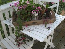 Deilig sommer på terrassen!